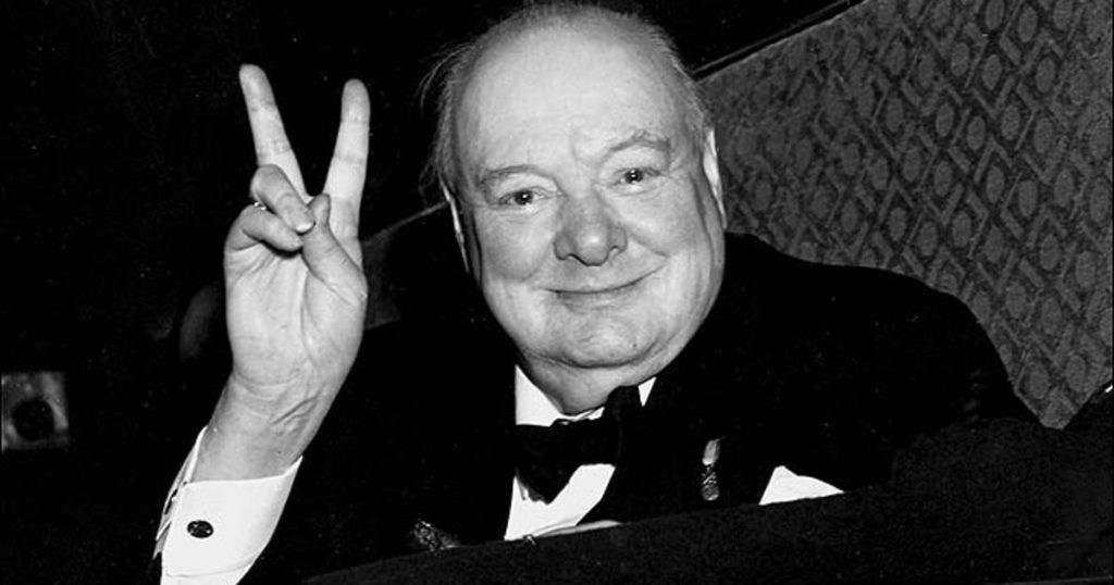 Уїнстон Черчилль. Фото з сайту vojnapovijest.vecernji.hr