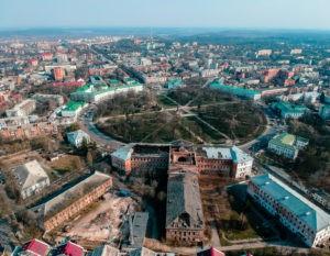 Полтава, Кадетський корпус. Фото Валерія Явтушенка
