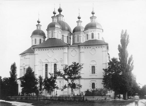 Хрестоздвиженський монастир.Воздвиженський собор.