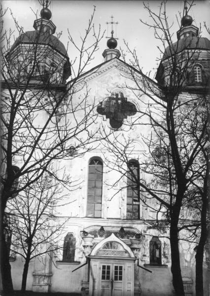 Хрестоздвиженський монастир.Воздвиженський собор. Деталі центральної частини.