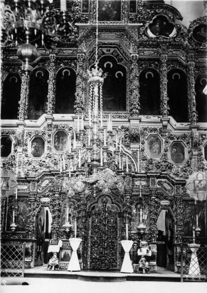 Хрестоздвиженський монастир.Воздвиженський собор. Іконостас.